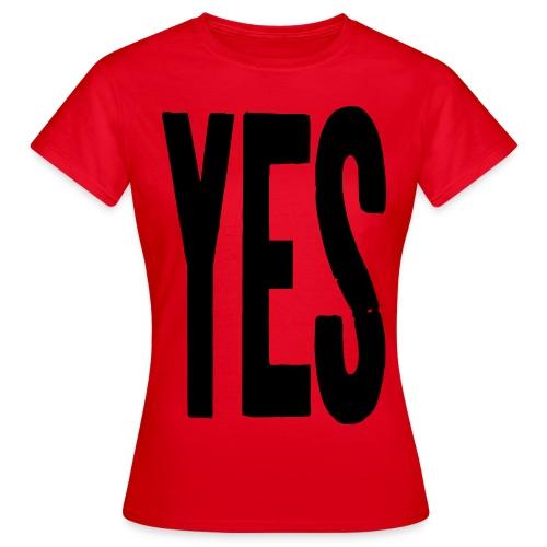 yes2 - Women's T-Shirt