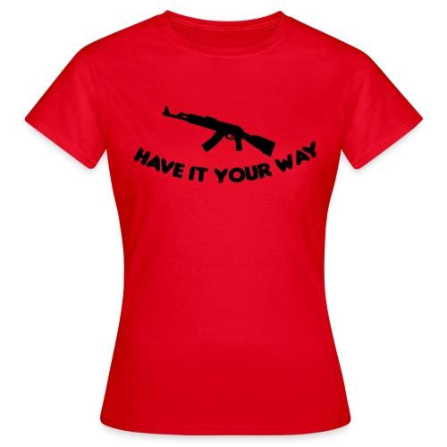 ak47 - T-shirt dam