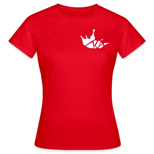 bc crown bold small vector - Frauen T-Shirt