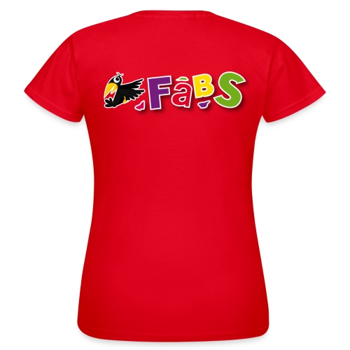 fabslogo trans - Frauen T-Shirt