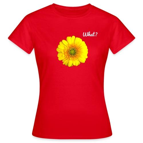 What? Logo - Frauen T-Shirt