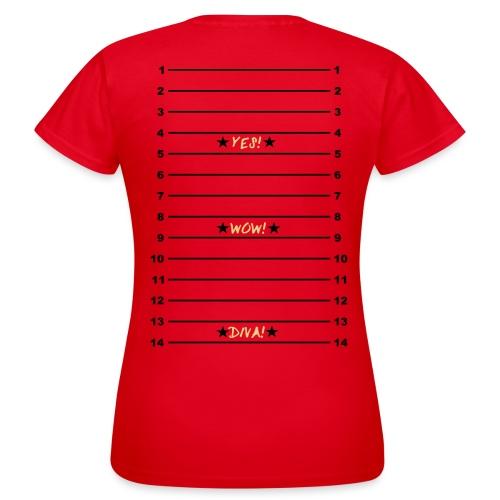 Yes Wow Diva Length Check T-Shirt - Women's T-Shirt