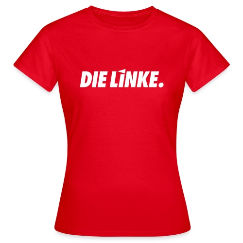 LINKE. Logo_S/W - Frauen T-Shirt