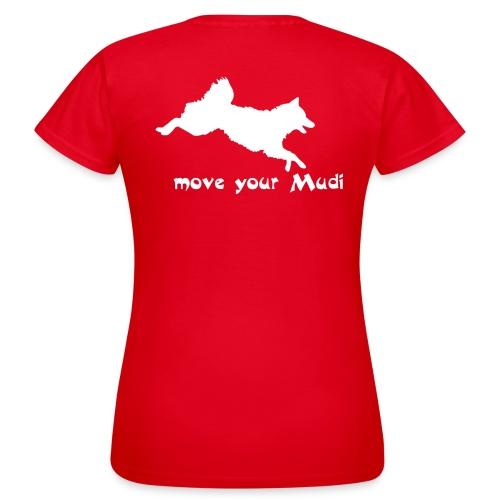 moyomu white - Women's T-Shirt