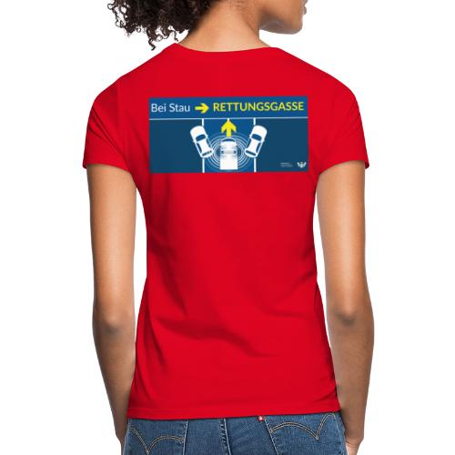 Rettungsgasse - Frauen T-Shirt