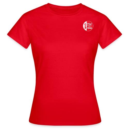 Rand um Logo - Frauen T-Shirt