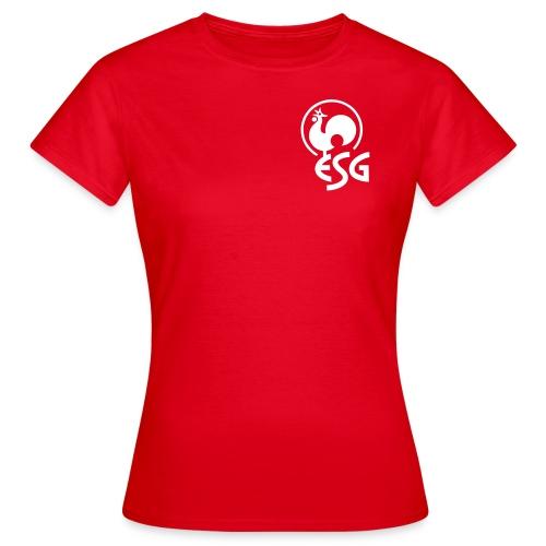esg bs hahn - Frauen T-Shirt
