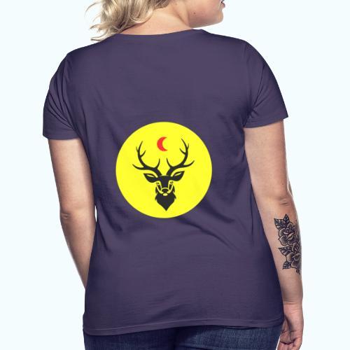 Hipster deer - Women's T-Shirt