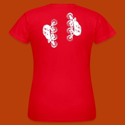 Inline speed skate - Frauen T-Shirt