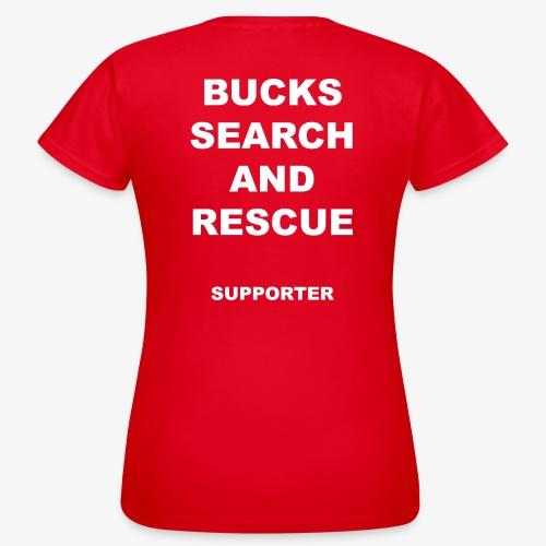 BSAR Supporter Text - Women's T-Shirt