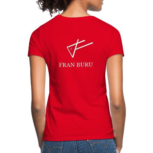 fran buru blanco - Camiseta mujer