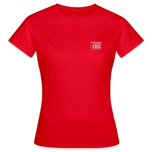 EBS Logo weiss png - Frauen T-Shirt