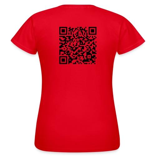 static qr code without logo2 png - Maglietta da donna