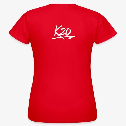 K20 Back Logo - Women's T-Shirt
