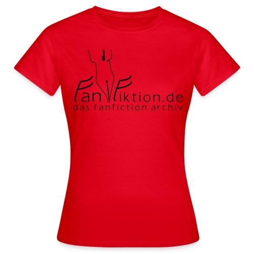 Logo Schwarz auf Weiß - Frauen T-Shirt