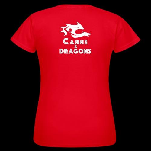 logoC D N B - T-shirt Femme