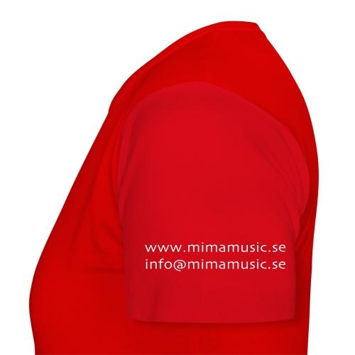 mima music - T-shirt dam