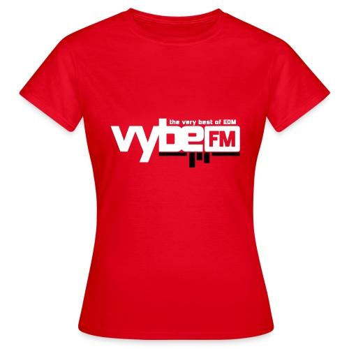 vybeFM-logo - T-shirt dam