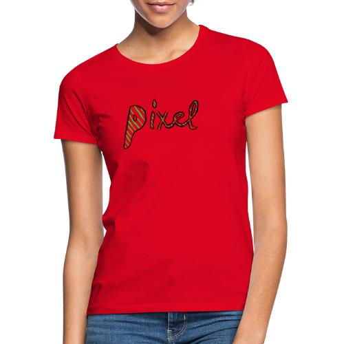 Pixel design - Dame-T-shirt
