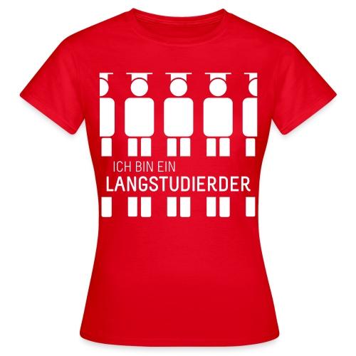 Ich bin ein Langstudierder vector - Women's T-Shirt
