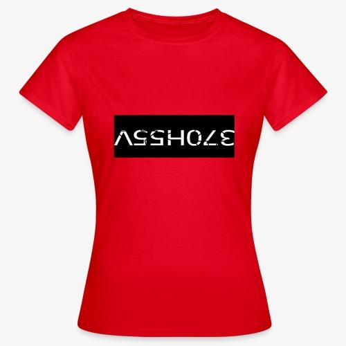 ASSHOLE Design - Vrouwen T-shirt