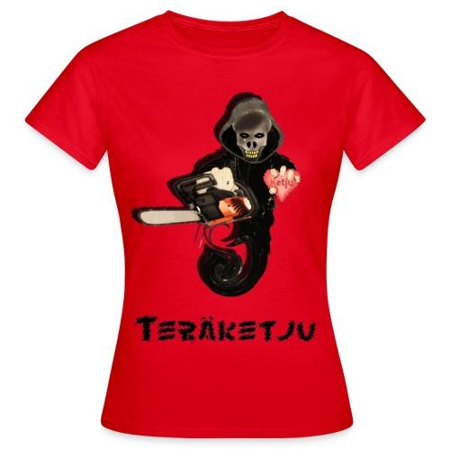 skeletorpaitagraffa2 - Naisten t-paita