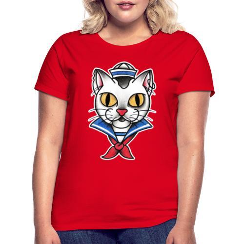 Sailorcat - Maglietta da donna