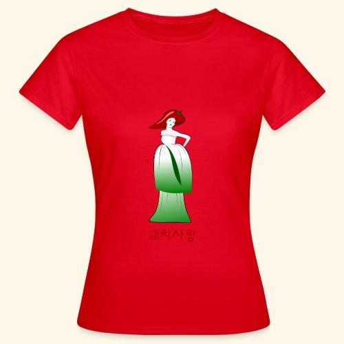 Kimchi Liebe - Frauen T-Shirt