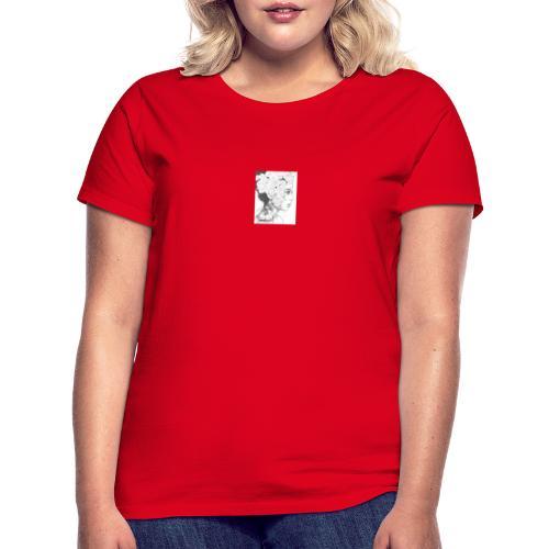 art de una hermosa mujer - Camiseta mujer