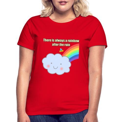 Bubbly! Rainbow - Maglietta da donna