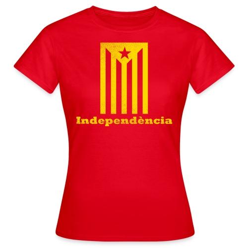 Independència - Camiseta mujer