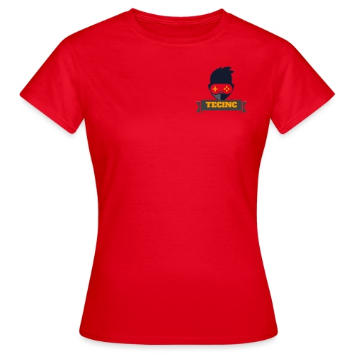 TecInc Twitch Logo - Dame-T-shirt