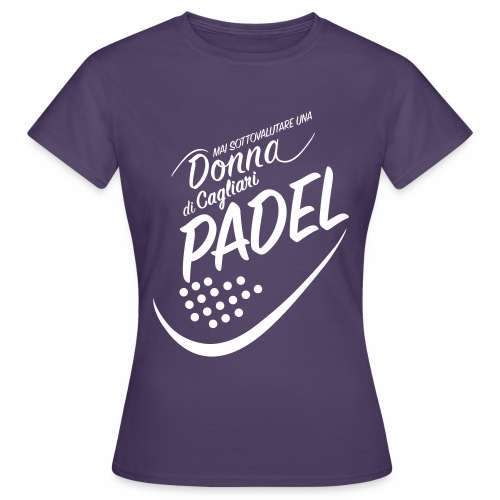 PadelCagliari - Maglietta da donna