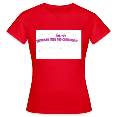 logo tee shirt - T-shirt Femme