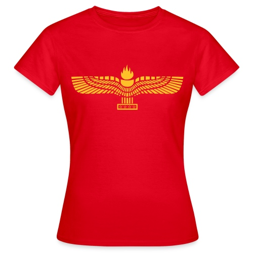 Aramean Flag - Vrouwen T-shirt