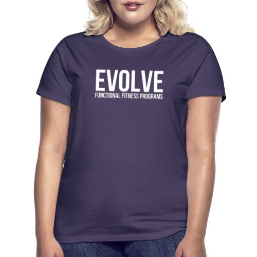 evolve white - T-shirt dam