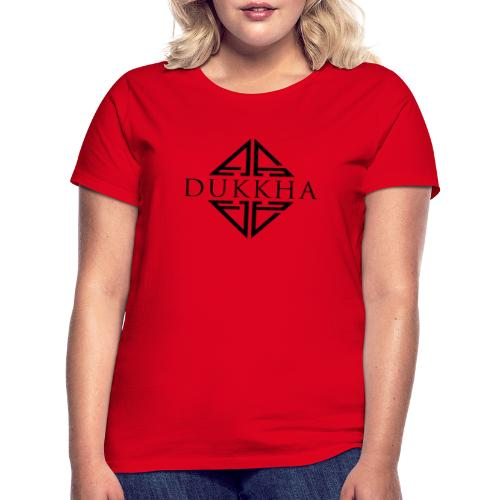 Dukkha Logo Seul Noir - T-shirt Femme