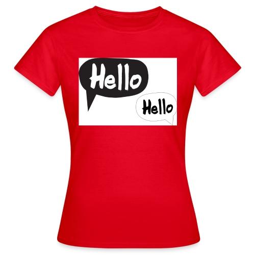 hello Design! Geschenkidee - Frauen T-Shirt