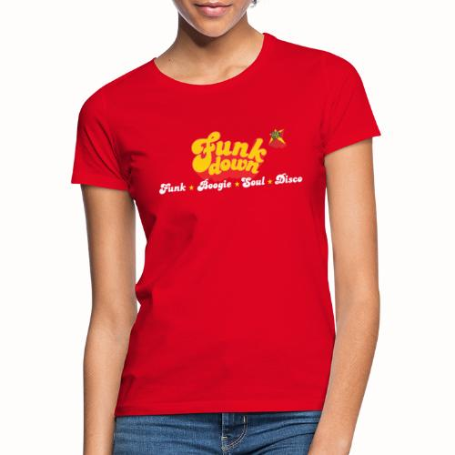 FunkDown Official Merchandise (med genrer) - Dame-T-shirt
