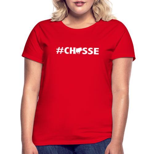 #Chasse motif sanglier pour afficher sa passion ! - T-shirt Femme