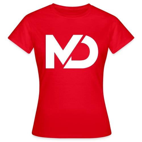 logo_wit - Vrouwen T-shirt