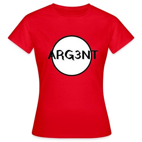 ARG3NT - T-shirt Femme