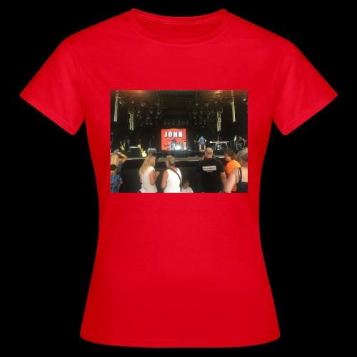 John Mogensen - Dame-T-shirt
