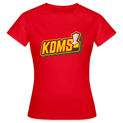 koms 23 sans ombre - T-shirt Femme