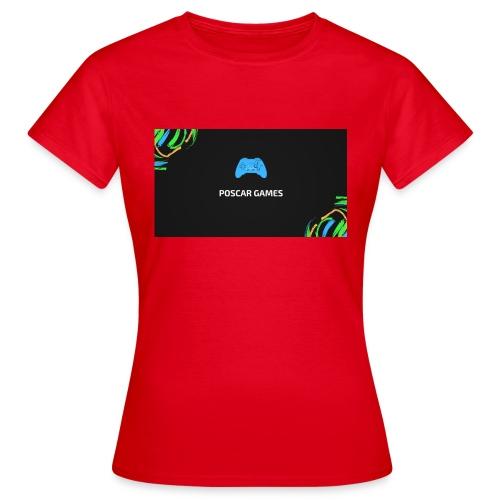 POSCAR GAMES - Camiseta mujer