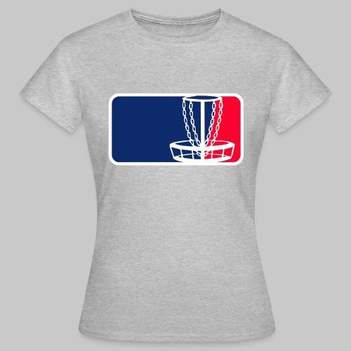 Disc golf - Naisten t-paita