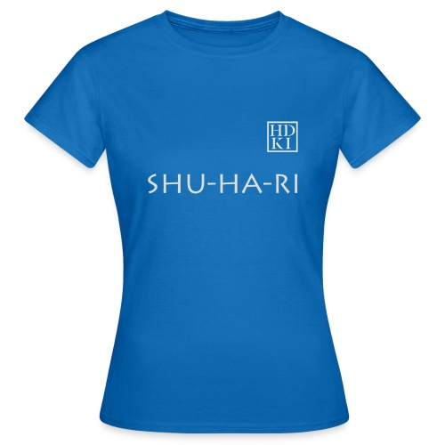 Shuhari HDKI white - Women's T-Shirt
