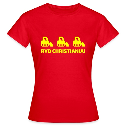 Ryd Christiania - Dame-T-shirt