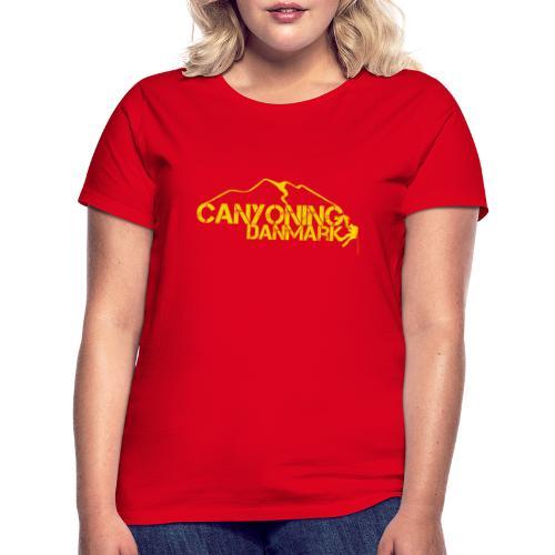 Canyoning Danmark - Dame-T-shirt