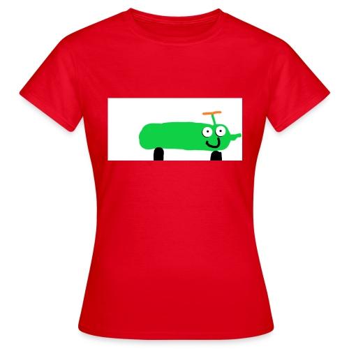 kurkkumopo - Naisten t-paita
